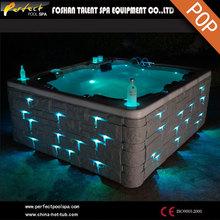 2014 Venta caliente!!!Spa al aire libre/bañera de hidromasaje/5 persona spa