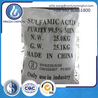 sulfamic acid 99.5%-99.8% food and industry use