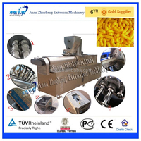 Industrial Corn Puffed Expanded small Snacks Food Making Machine
