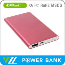 Mini Power Bank Case 4500 mah For Android Phones, Puissance Mobile 4500 mah