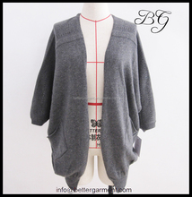 Sweater factory wholesale fashion shrugs for women / ladies / girls with good quality BG151037