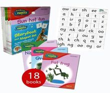 Oxford Read Write Inc Phonics Story 18 books and Magnet Set Read at Home NEW