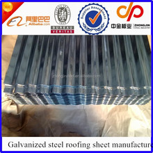 Factory price prime good quality galvanized steel roofing sheet