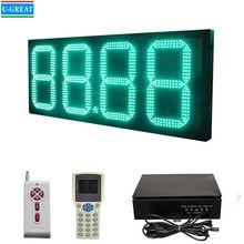 China Wholesaler High Quality 7Segment Digital Led Gas Price Sign