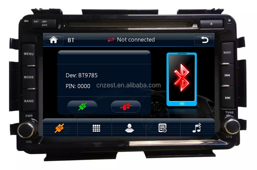 Car Radio With Sim Card For Honda Hrv Vezel 2015 Car Radio ...