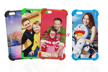 Factory direct selling heat transfer phone case for Iphone6 3D 2 in 1