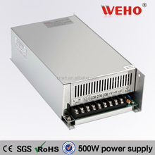 Factory outlet 12v 500w power supply led switch power supply for cctv 12v 40a led driver