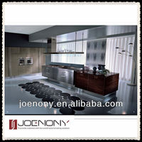 Modern Lacquer &Stainless steel kitchen Cabinet Design in China