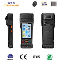 GPS equipped industrial PDA supports WIFI RFID terminal pos pda with mobile printer