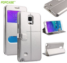 Newest design filp cover for galaxy note 4 case