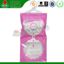 230g Hanging misture dehumidifier bags for wardrobe/cabinet/closet