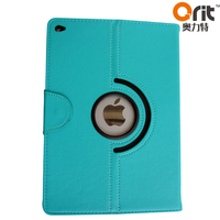 Good Quality for ipad 6 pu leather printing case oem tablet case Leather case with stand for ipad air