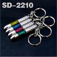 High quality SD-2210 Car Anti Static Keychain Auto Touch Pen Keyring Anti-Static Discharger Key Ring Static-Free Key Chain