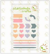 Something Wonderful Adhesive Enamel Dots and Shapes stickers