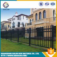 Assembled powder coated models of gates and iron fence