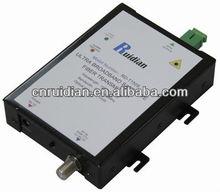 1550nm sigle fiber satellite optical fiber transmitter with DFB made in china