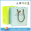 Made in China Factory Professional Colorful fashion luxury paper shopping bag for essential oil