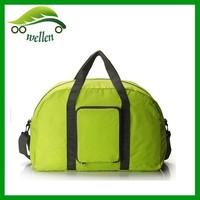 2015 high quality nylon Folding Portable plain Waterproof Duffel Bags