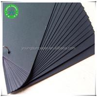 black art carton paper