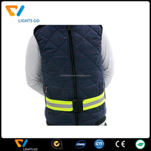 fashional reflective elastic stretch waist belt with snaps for outdoor safety
