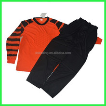 2014-15 Blank custom football goalkeeper jersey set