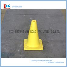 30cm Height Yellow Soft PVC Traffic Cone