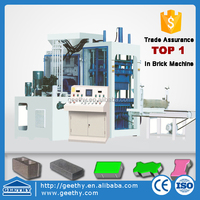 fully automatic concrete block making machine QT12-15 automatic paver brick making machine