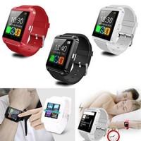 "2015 Factory Wholesale Smart Watch U8 Bluetooth Smart Watch 1.44"" Touch Screen Pedometer Multi Functional"