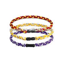 New Custom Titanium Necklace Tornado 3 rope