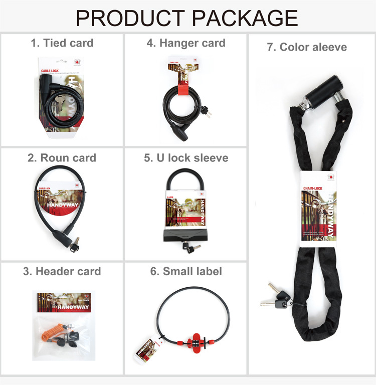 FL-511 W/BRACKET _ Bicycle lock_ FOLDING LOCK
