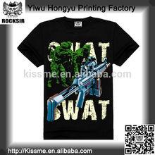 comprar al por mayor de china de las armas pequeñas de los hombres de impresión t camisa de venta al por mayor baratos