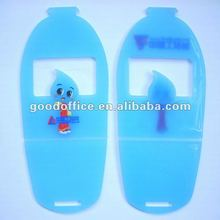 2012 new design soft pvc mobile phone holder [made in China]