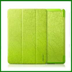 Luxury leather case for ipad 5, for ipad air leather case, for ipad air case