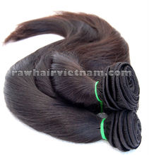 Machine Weft Straight Hair 100% Virgin Vietnam Hair, Cambodia hair