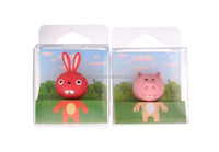 lovely 3.5mm Pig bird rabbit cat bear head earphone Anti Dust Plug Stopper cute cat Dust proof plug For iPhone for iPAD