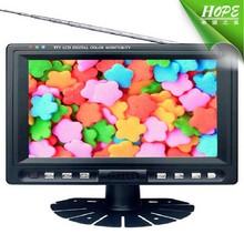 800*480 Resolution 7 Inch Headrest Car Monitor