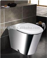 Stainless steel toilet toilet bowl