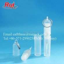 2ml mini pocket travel set perfume pen, lovely plastic perfume bottle