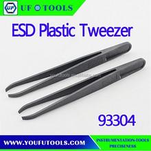 93304 Cheap Cleanroom Tweezer,ESD Plastic Tweezer,Carbon fiber Tweezer