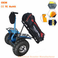2015 newest 2 wheels powered unicycle innovative 48V lithium batteries Off Road cheap electric golf cart for sale