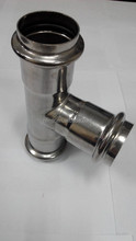 plumbing fittings equal tee DN20