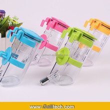 350mL Pet Product Dog Bottle Can Hanging Pet Drinking Fountains Stainless Steel Bead Senior Water Fountain Dog Kettle