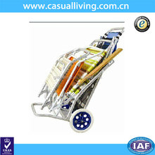 Bright color of folding Carts for the beach