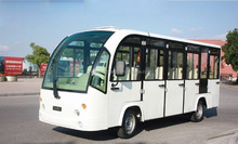 14seats battery power electric luxury bus for hotel