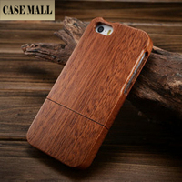 CaseMall Real Wood Case for iPhone 5, for iPhone 5 Real Wood Case Cover