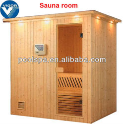 4 persons sauna house / sauna room for family