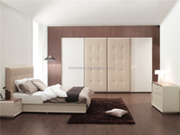 MA43O Bedroom Furniture Set/Isabelline Leather Double Bed