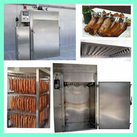 Stainless steel fish smokehouse with best quality and service
