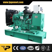2015 Open Type 125kva 100kw Diesel Generating Sets Powered by Cummins 6BTAA5.9G2