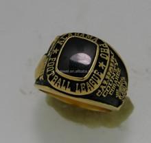 Custom baseball runner up trophy rings for Tournament